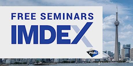 IMDEX - Free Seminars at PDAC 2020 tickets