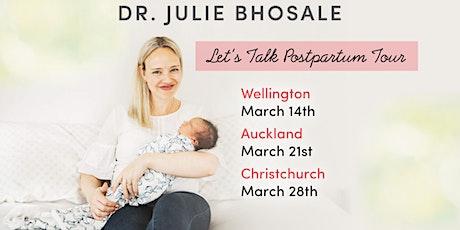 Dr Julie Let's Talk Postpartum - Christchurch tickets
