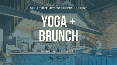 Yoga + Brunch at Stockpot tickets