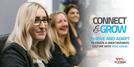 Carbon Connect & Grow: Thrive and adapt to create a great business culture with Mike House tickets