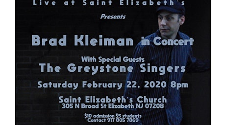 Brad Kleiman with Special Guests The Greystone Singers