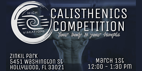 Calisthenics Competition tickets
