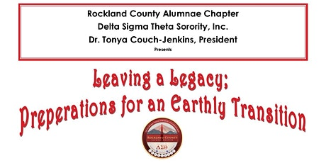 Leaving a Legacy; Preperations for An Earthly Transition tickets