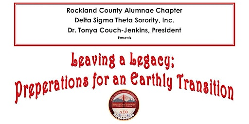Leaving a Legacy; Preperations for An Earthly Transition