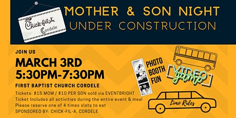 Mother Son Date Night Out tickets