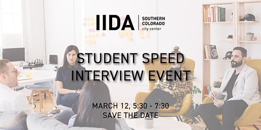 IIDA SOCO | Student Speed Interview Event