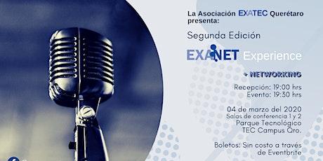 Segunda Edición EXANET Experience Querétaro boletos