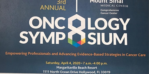 3rd Annual Oncology Symposium