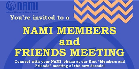 NAMI Members and Friends Meeting tickets