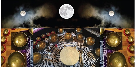 Full Moon Intensive Healing Sound Bath & Vibrational Sound Therapy Session tickets