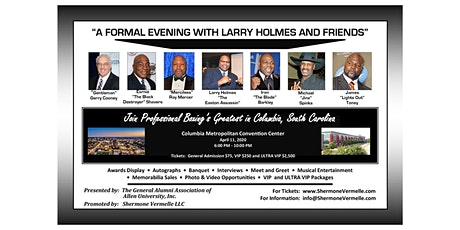 A FORMAL EVENING WITH LARRY HOLMES AND FRIENDS tickets