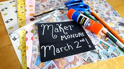 Maker Monday at Hotel McCoy - March 2nd tickets
