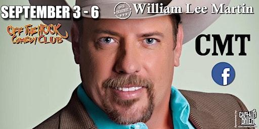 Comedian William Lee Martin Live Naples, Florida