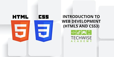 Introduction to Web Development (HTML5 and CSS3): 7th-12th Grade tickets