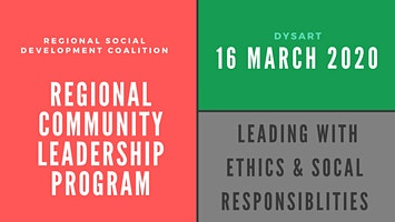 RSDC PD Series: Leading with ethics, values & social responsiblity