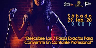 """""""Descubre Los 7 Pasos Exactos Para Convertirte En Cantante Profesional"""""""