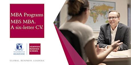 MBA Programs - Meet the Director in Sydney tickets