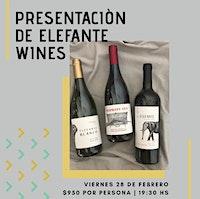 Presentación de Elefante Wines