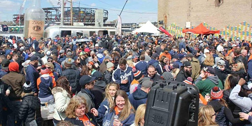 Tigers Opening Day Party Bus Package