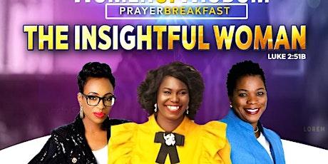 Women Of Wisdom Prayer Breakfast tickets