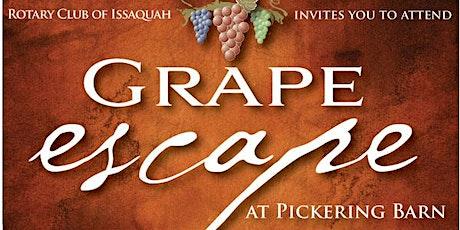 2020 Issaquah Rotary Grape Escape tickets