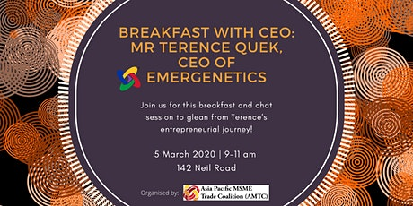 Breakfast with CEO: Mr Terence Quek, CEO of Emergenetics tickets