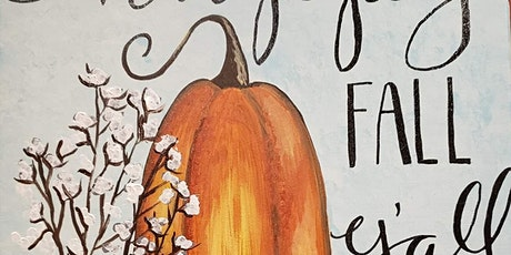 Fall Paint & Sip At Oakland Valley Campground tickets