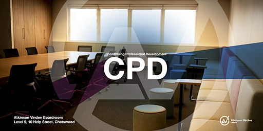 CPD TRAINING IN CHATSWOOD 10 MARCH 2020