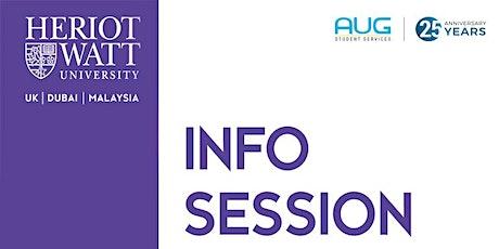 Heriot-Watt University Info Session tickets