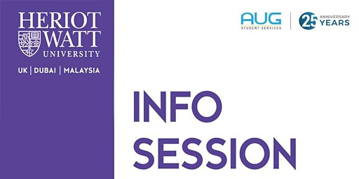 Heriot-Watt University Info Session