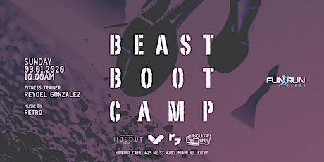 Fun Run Miami - Beast Boot Camp - March 2020 tickets
