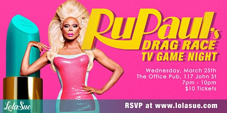 RuPaul's Drag Race TV Game Night tickets