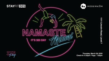Namaste Miami – It's 305 Day 2020