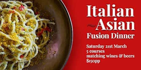 Italian Asian Fusion Dinner tickets