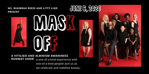 Mask Off: The 2nd Annual Vitiligo & Albinism Awareness Runway Show