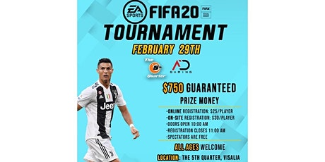 FIFA 20 Tournament!! tickets