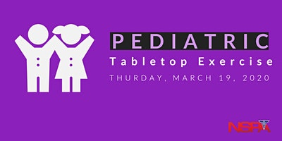 Pediatric Tabletop Exercise