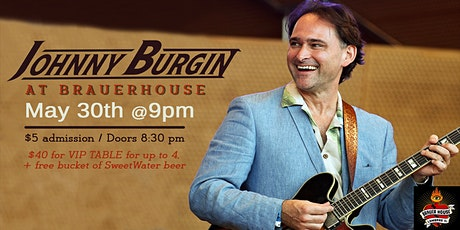 Johnny Burgin at Brauer House tickets