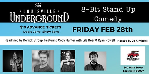 8-Bit Stand Up Comedy: Feb 28th
