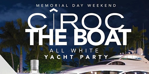 THE LEGENDARY: ALL WHITE YACHT PARTY