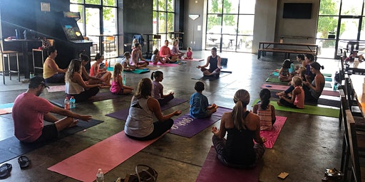 Child and Adult Yoga Class: Compass Rose
