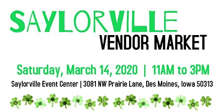 March   Saylorville Vendor Market tickets