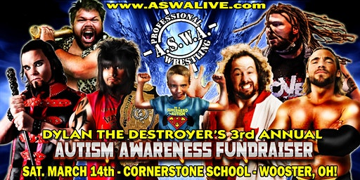 Autism Awareness Fundraiser: Live Pro Wrestling in WOOSTER, OH