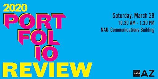 2020 AIGA AZ Portfolio Review- Northern Arizona University