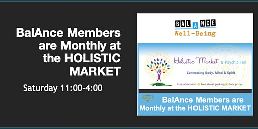 BalAnce Members @ Holistic Market