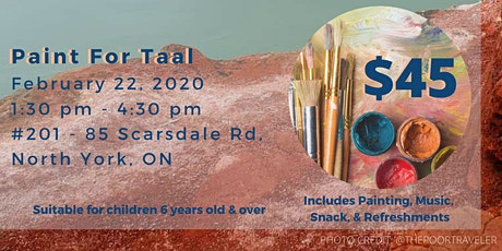 Paint for Taal Fundraiser tickets