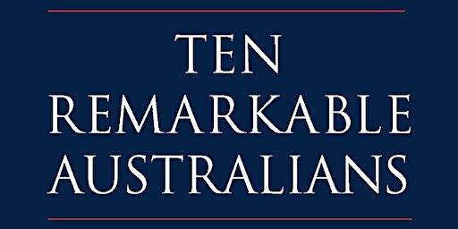 Author Talk: Ten Remarkable Australians