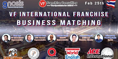 VF INTERNATIONAL FRANCHISE BUSINESS MATCHING - BAN