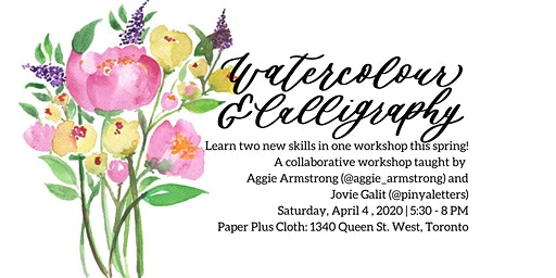 Watercolour and Brush Calligraphy Workshop