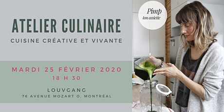 Ateliers culinaires Louvgang/Pimp ton assiette - Cuisine créative et vivante tickets